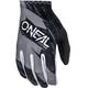 ONeal Matrix Gloves Youth BURNOUT black/gray